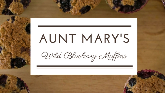 Aunt Mary's Blueberry Muffins