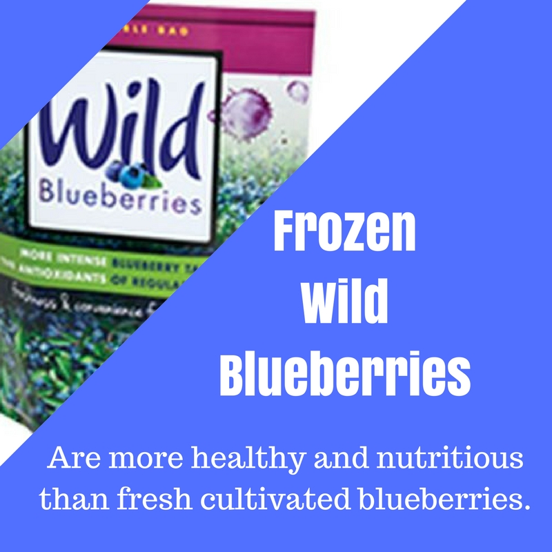 Frozen Blueberries And Cake Mix