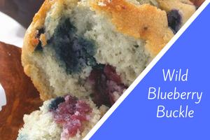 Wild Blueberry Buckle