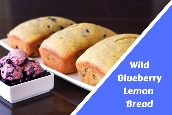 Wild Blueberry Lemon Bread