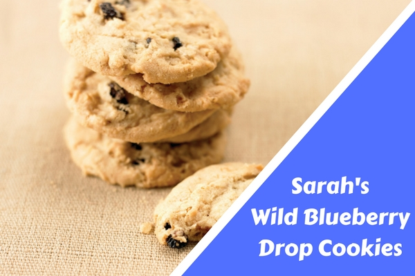 Sarah's Wild Blueberry Drop Cookies