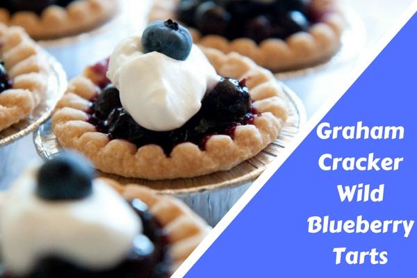 Graham Cracker Wild Blueberry Tarts