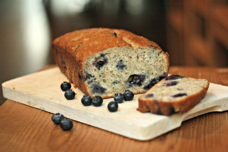 Wild Blueberry Loaf