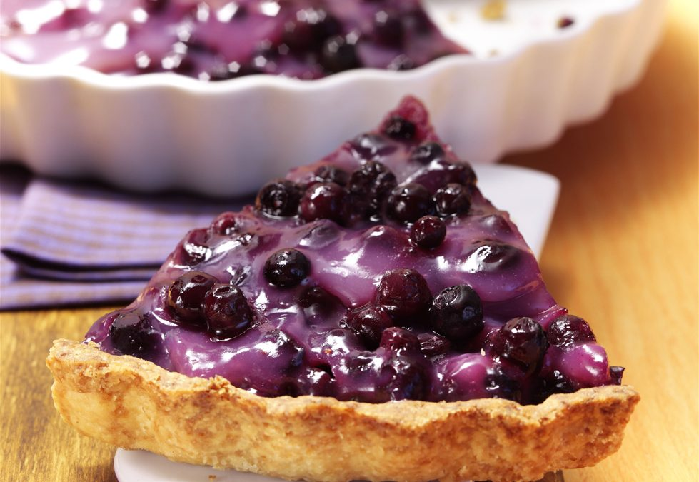 Five Minute Blueberry Pie