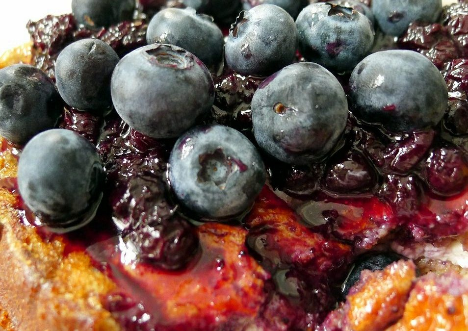 Wild Blueberry Stuffed French Toast