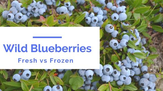 Wild Blueberries: Fresh vs Frozen