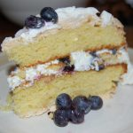 Tangy Wild Blueberry Layer Cake