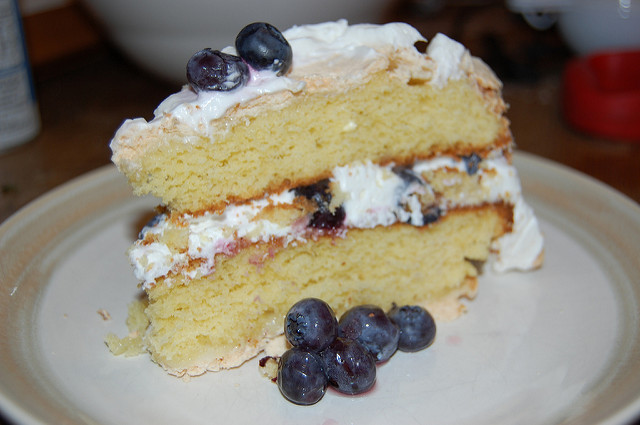 Blue Angel Wild Blueberry Cake