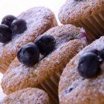 Wild Blueberry Sugar Cakes