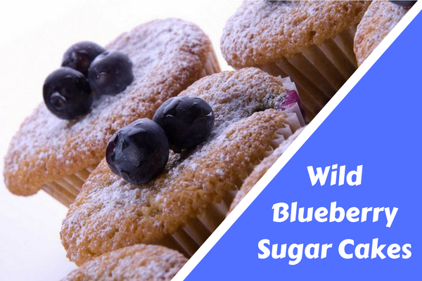 Ides of March Wild Blueberry Sugar Cakes