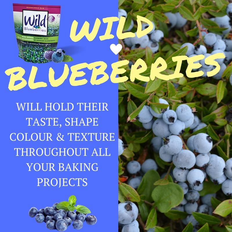 Wild Blueberry Baking Tip