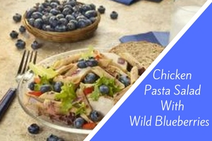 Chicken Pasta Salad With Wild Blueberries