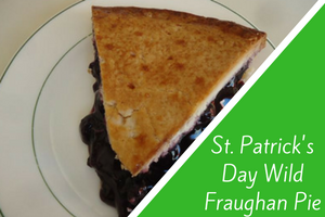 St. Patrick's Day Wild Fraughan Pie