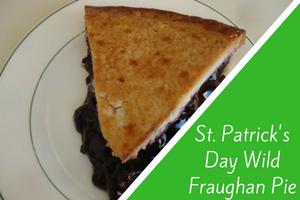 St. Patrick's Day Wild Fraughan Pie