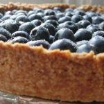 Wild Blueberry Graham Cracker Torte
