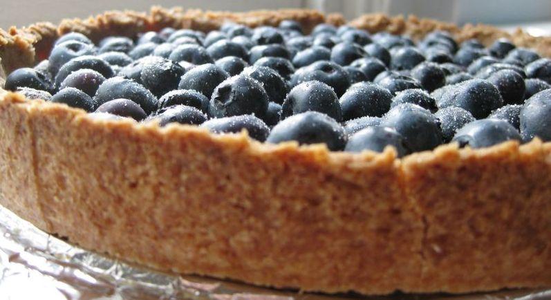 Wild Blueberry Graham Cracker Torte