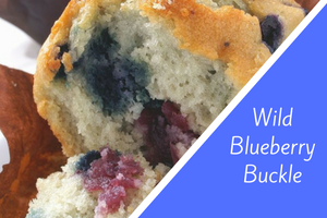 Wild Blueberry Buckle