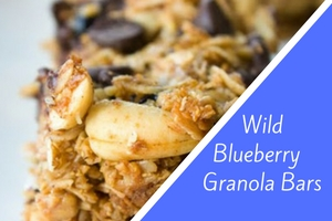 Wild Blueberry Granola Bars