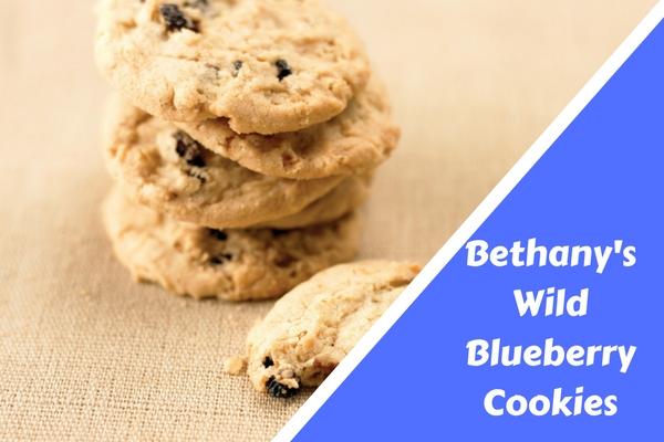 Bethany's Wild Blueberry Cookies