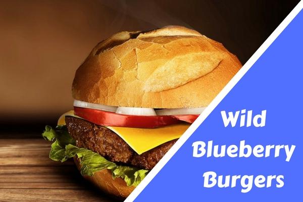 Wild Blueberry Burgers