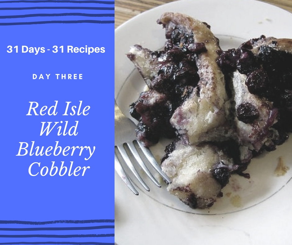 Red Isle Blueberry Cobbler