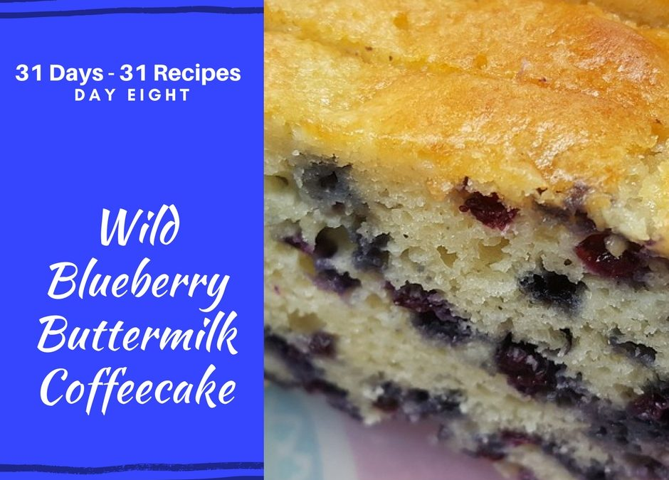 Wild Blueberry Buttermilk Coffeecake