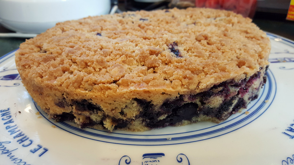 PEI Wild Blueberry Buckle