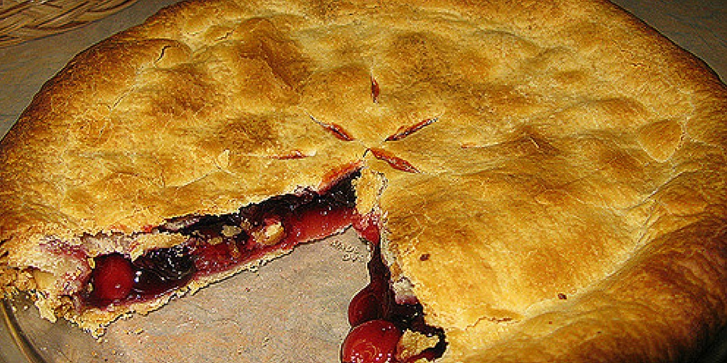 Ozark Wild Blueberry Pie