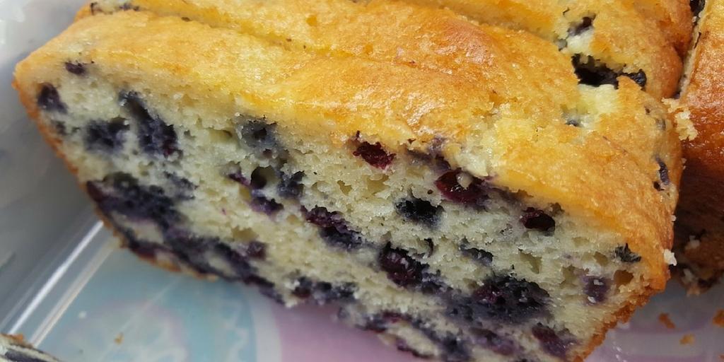 Katie's Wild Blueberry Cake