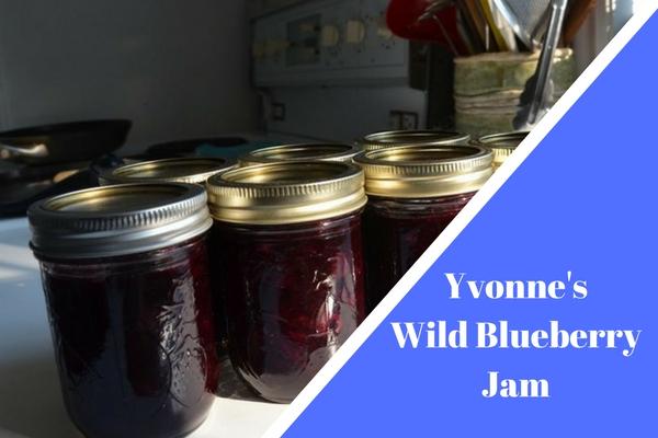 Yvonne's Wild Blueberry Jam