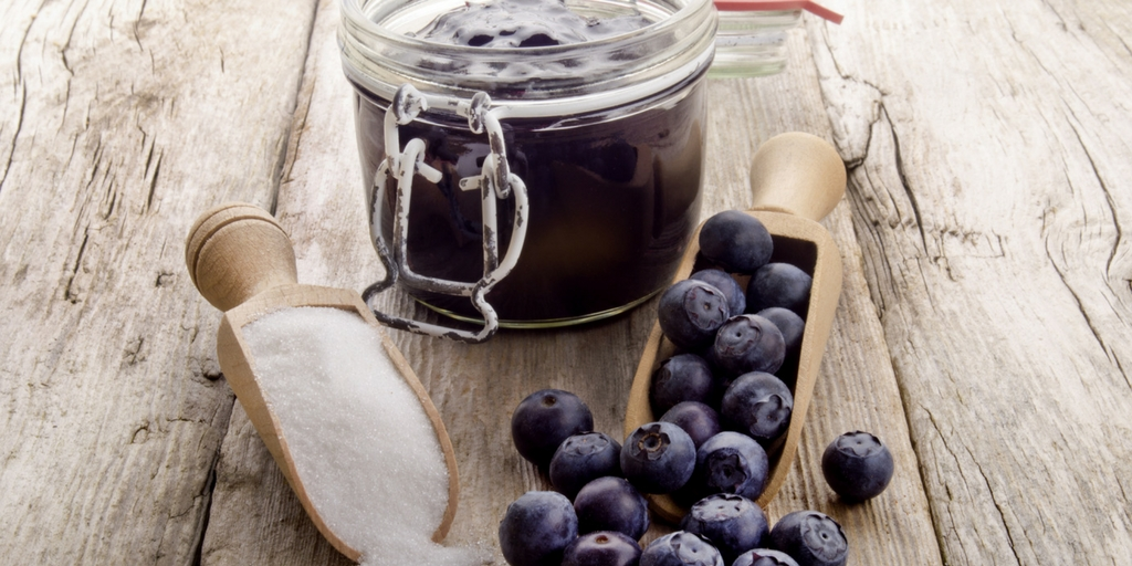 Michelle's Homemade Wild Blueberry Compote