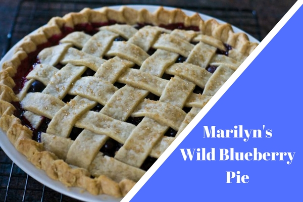 Marilyn's Wild Blueberry Pie