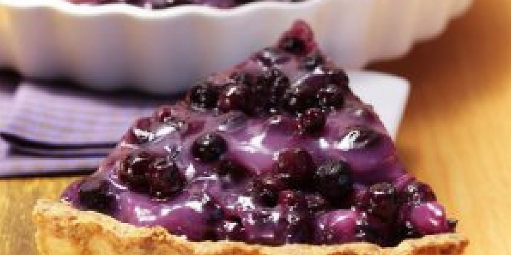 5 Minute Blueberry Pie
