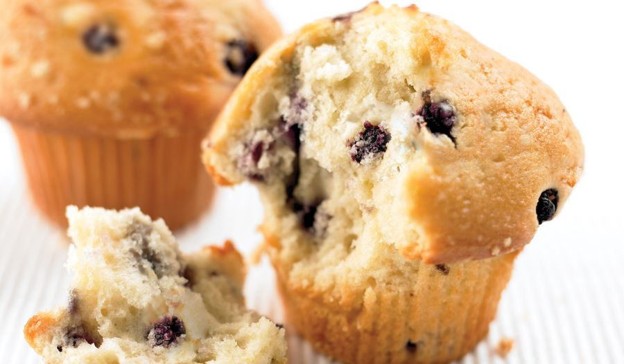 Old Fashioned Wild Blueberry Muffins
