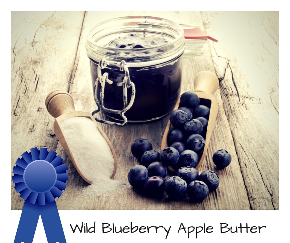 Wild Blueberry Apple Butter