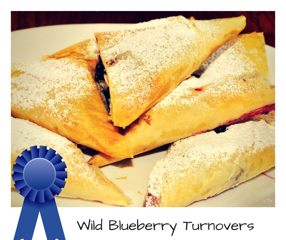 Wild Blueberry Turnovers