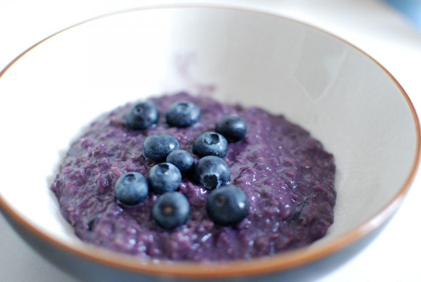 Wild Blueberry Porridge