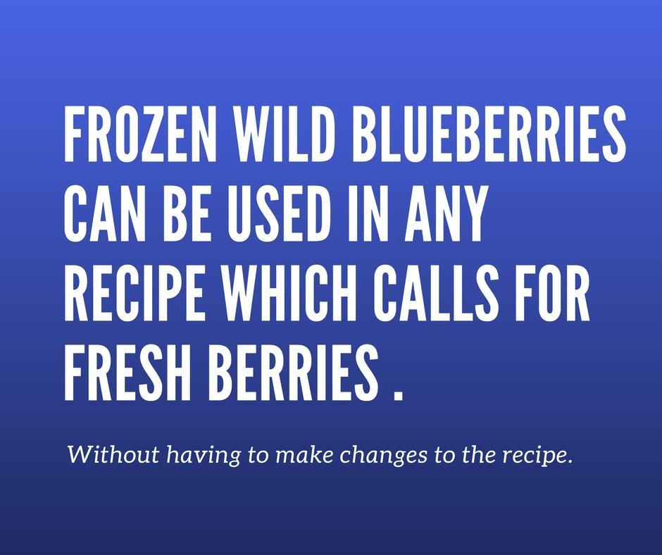 Wild Blueberry Sweet Potato Stacks