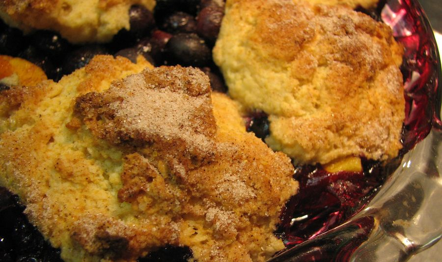Red Isle Wild Blueberry Cobbler