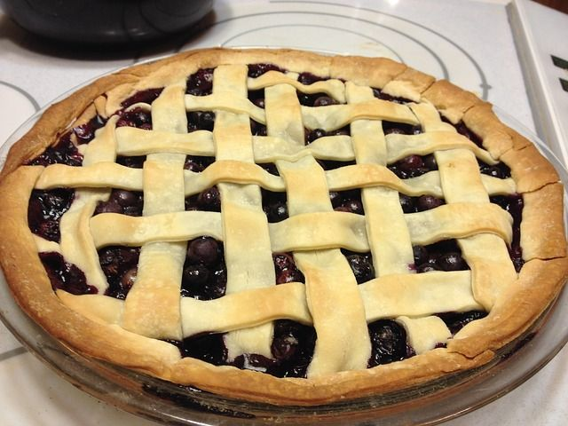 Sully's Wild Blueberry Pie