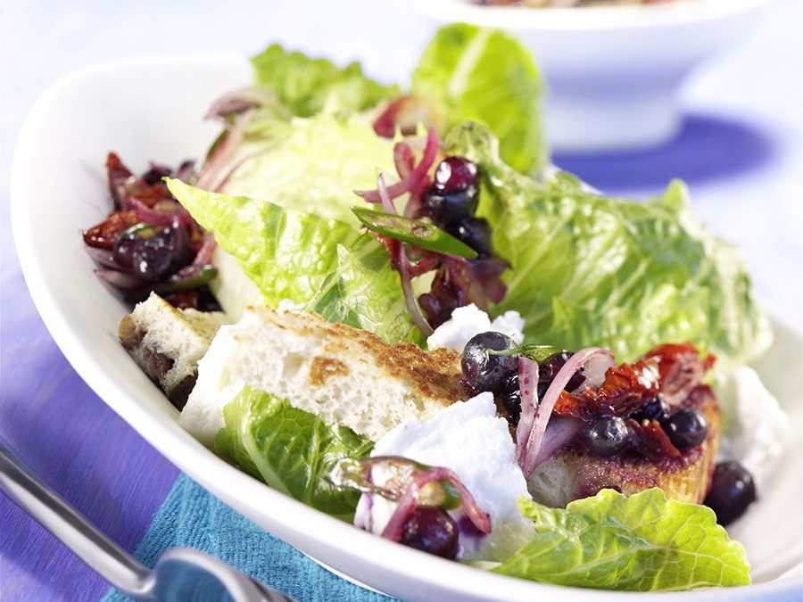 Wild Blueberry Greek Salad