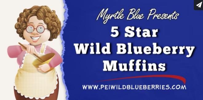 5 Star Wild Blueberry Muffins